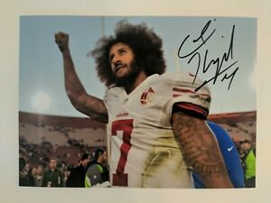 Colin Kaepernick Signed Photo