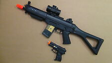 Great Combol: Double Eagle Semi/Auto Electric Airsoft Gun Plus One Free Pistols