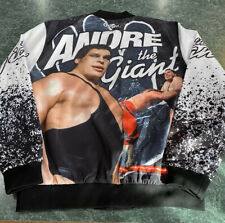 WWF Legends Chalk Line ANDRE THE GIANT Jacket Adult Size Large **SUPER RARE**