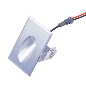 10 x 3W LED Walkway Step Stair Light Wall Corner Lamp Rectangle Pure White
