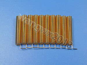 10pcs 315MHz Helical Antenna Gilded 315M Spring Antenna 2.15dBi
