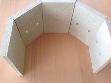 Brennraum Ersatzteile Steine Schamotte Vermiculite Lyon 5 Tlg Fireplace Ersatz