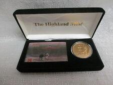Mickey Mantle New York Yankees Highland Mint Bronze Coin Kodak Phone Card Set
