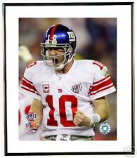 Eli Manning yelling Super Bowl XLII framed 10x12 Photo
