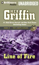 W E B Griffin LINE OF FIRE Unabridged 15 CDs 18 Hours *NEW* FAST Ship!