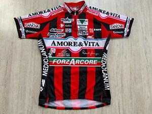 Amore & Vita ForzArcore Fahrradtrikot Radtrikot Rad Trikot Cycling Jersey L