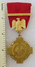 ORIGINAL Vintage CONNECTICUT NATIONAL GUARD 45 YEARS FAITHFUL SERVICE MEDAL
