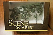 "BACHMANN SCENE SCAPES  HO SCALE 3"" - 4"" MAPLE TREES  (3 TREES/PACK)"