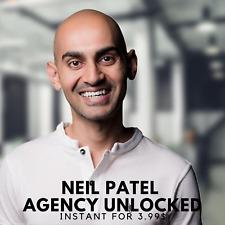 Neil Patel - Agency Unlocked Course |🥯 Value $1495