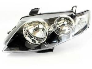 LHS Headlight BLACK Ford FG Falcon XT G6 G6E 08 09 10 11