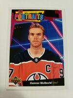 "2020/21 Upper Deck Hockey Series 1 ""Portraits"" Base & Rookies **Pick from Menu**"