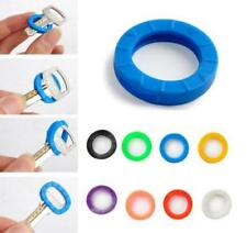 20PCS Random Color Soft Rubber Key Cover Caps CaseKey Holder Accessories NT5