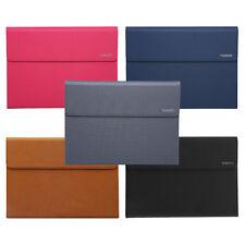 "Premium Leather Case Cover Folio Stand F 10.8/12/12.3"" Microsoft Surface Pro 4 3"