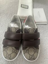 Gucci Gg Supreme Kids Boys Girls Trainers IT 25 Uk8.5 Rrp210