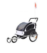 Jogger Fahrradanhänger Fahrrad Kinderfahrradanhänger Anhänger Kinderwagen 02 Neu