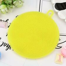Silicone Dish Washing Sponge Scrubber Home Kitchen Cleaning antibacterial Tools