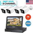 HeimVision HM541 HD 5MP NVR POE Security Camera System with 10 inch LCD Monitor picture