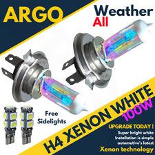 H4 Luces Xenon Headlight Bulbs cabeza lámparas Set Brillante Mega Blanco 12v 100w 501