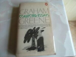 COLLECTED ESSAYS - GRAHAM GREENE'S  OWN COPY SIGNED + SIGNED LETTER FROM GREENE.