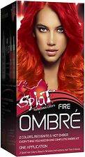 Splat Rebellious Colors Ombre Hair Coloring Complete Kit, Fire 1 ea
