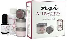 NSI Attraction Nail Acrylic System Sampler Kit.