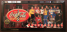 2002 NASCAR Coca Cola Coke Racing Family Jebco Clock Limited Edition #274/5000