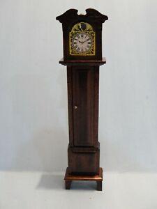 Dollhouse Victorian Grandfather clock, Concord 1/12