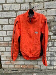 LOFFLER jacket cycling Windstopper orange size XL men bag
