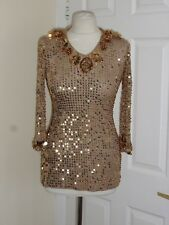 Savoir Sequin Party Top Size UK 10 EU S