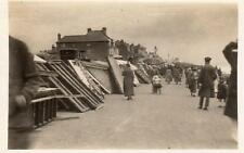 Bognor Regis storm damage  RP old pc used 1922 King & Wilson