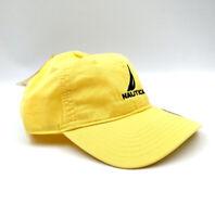 Hot Nautica Hat New Adjustable Sport Baseball Cap Unisex Tennis Driving Yellow
