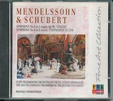 Mendelssohn Symphony 4 Italian and Schubert Symphony 8 Unfinished