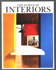THE WORLD OF INTERIORS August 2002 UK Ausgabe