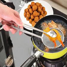 Acero inoxidable Metal Colador de cocina Tamiz Colador de cuchara