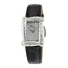 Henry Dunay Sabi Diamond Pave Dial 18kt White Gold Ladies Watch  W8015ABBL