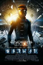 Ender's Game  Original D/S Harrison Ford Rolled Movie Poster 27x40 NEW 2013 Asa