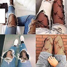 Fashion Women Lady Mesh Fishnet Net Pattern Pantyhose Tights Stockings Socks