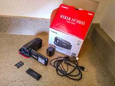 Canon Vixia HF-R800 with 16gb SD card