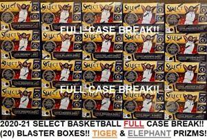 DALLAS MAVERICKS 2020-21 SELECT BASKETBALL BLASTER BOX FULL CASE Break #167