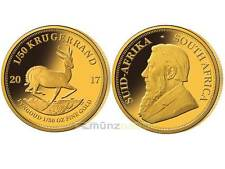Krugerrand Krügerrand 1/50 oz Gold Südafrika South Africa PP Proof 2017