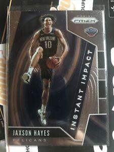 2019-20 Panini Prizm Jaxson Hayes Instant Impact Insert RC Rookie Card