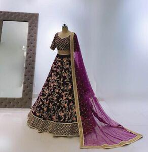Choli Lazzari Indien Lehenga Pakistanais Bollywood Fête Mariage Usure Neuf Femme