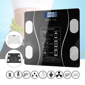 Bluetooth Digital Weight Scales Bathroom Smart Body BMI Monitor Weighing Scale
