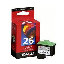 Genuino Original En Caja LEXMARK 26 Color Cartucho de tinta 2YR Garantía fastpostage