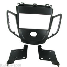 CT23FD15 Ford Fiesta 2008 en adelante negro Doble DIN Facia Placa Panel Adaptador