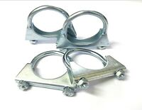 Exhaust Clamp. U Bolt. 50mm. Universal. TV Aerial. Pack of 4. *Top Quality!