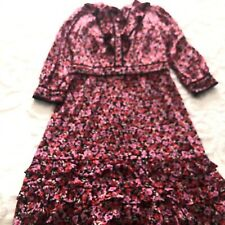 Review floral dress size 8