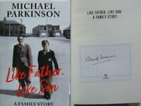 Signed Bookplate in Book Like Father Like Son by Michael Parkinson Hdbk 1st Edn