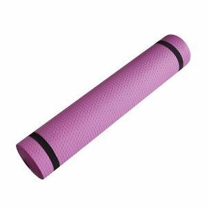 6mm Thick Yoga Mat Exercise Fitness Pilates Camping Gym Meditation Pad Non-Slip