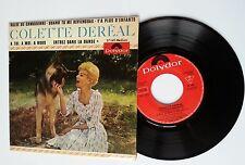 "FRENCH EP 7"" COLETTE DEREAL  VALSE DE CAMBRONNE + 3 TITRES REF POLYDOR 27169"